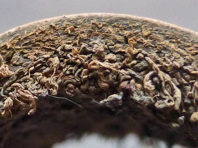 Vue d un cuir en coupe diagonale et transversale. Le haut du tissu fibreux  est plus dense et plus stable. 8a7115b7178