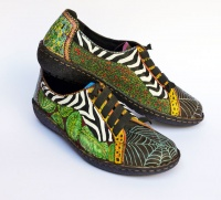 Schuhe bemalen wie